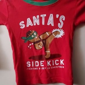 Children's Christmas long sleeve shirt